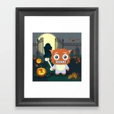 Wolfie Framed Art Print