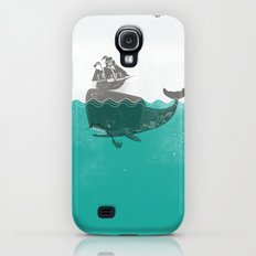 Belly of the Whale - Hipster Edition (with pirates) Galaxy S4 Slim Case