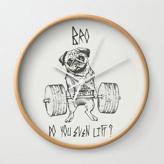 Do You Even Lift Wall Clock