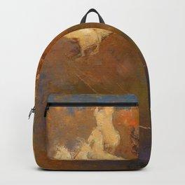 "Odilon Redon ""Apollo's Chariot"" Backpack"
