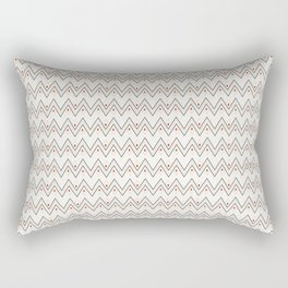 Diamonds and Pointy Lines (Patterns Please) Rectangular Pillow