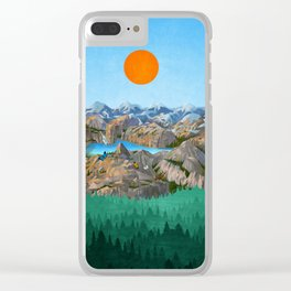Rock Trip Clear iPhone Case