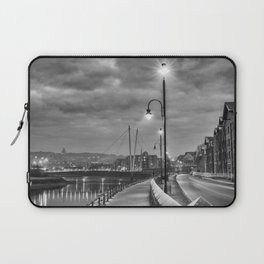 Early Winter evening St. George's Quay, Lancaster Laptop Sleeve