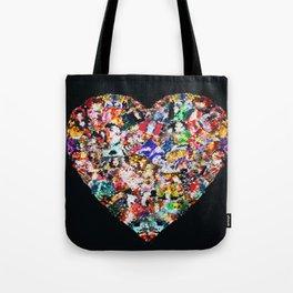 Heart by Lika Ramati Tote Bag