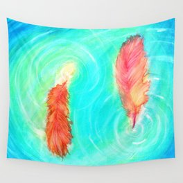 Fire and the Flood Wall Tapestry