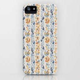 Oleander Floral Pattern iPhone Case