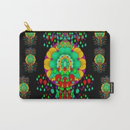 Rain meets sun peace soul and mind in fantasy popart Carry-All Pouch