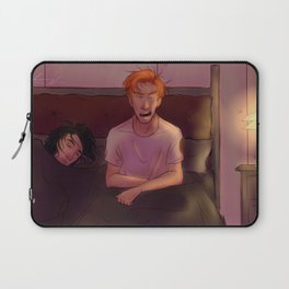 Lazy Morning Laptop Sleeve