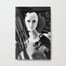 "Time10#070 ""Dolls in Silence #001"" Metal Print"