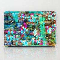 boyfriend iPad Cases featuring BOYFRIEND SWEATS -2- by Glint & Lime Art