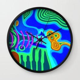 Music - The Elements - Air Wall Clock