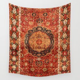 Seley 16th Century Antique Persian Carpet Wall Tapestry