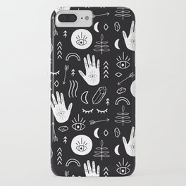 Inverted Witchy Pattern iPhone Case
