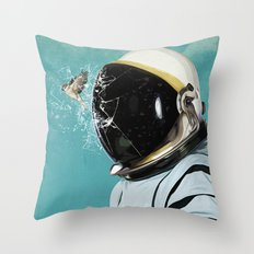 The escape Throw Pillow