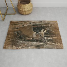 Deer - Birchwood Buck Rug