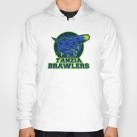 monster hunter Hoodies featuring Monster Hunter All Stars - The Tanzia Brawlers by Bleached ink