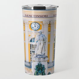 Place Garibaldi, square in the center of Nice, France Travel Mug