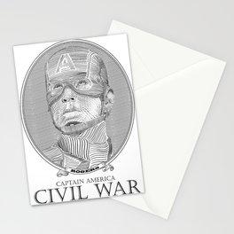 Civil War #1 Stationery Cards