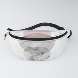 Visions Raspberry Frost Fanny Pack