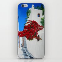 greece iPhone & iPod Skins featuring Greece by maggs326