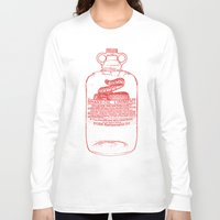 oil Long Sleeve T-shirts featuring snake oil by looseleaf