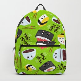 Neck Gaiter Kawaii Sushi You Maki Miso Happy Neck Gator Backpack