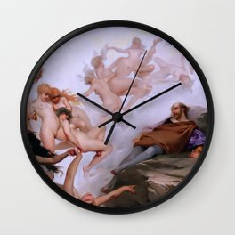 "Luis Ricardo Falero ""Faust's Dream"" Wall Clock"