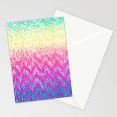 Hippie Chevron Stationery Cards