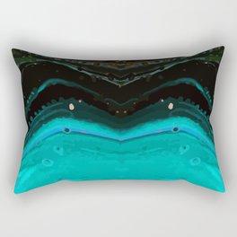 Insane Space Trip High Def Design Rectangular Pillow