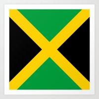 jamaica Art Prints featuring Jamaica by RickART