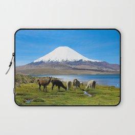 Chungara Lake, Chile Laptop Sleeve