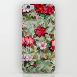 Madagascar Periwinkles iPhone Skin
