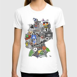 Germany Doodle T-shirt