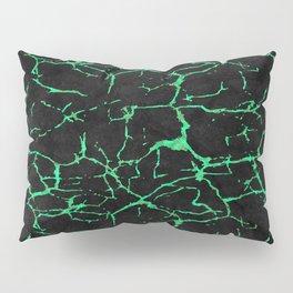 Green alexandrite gemstone wall Pillow Sham