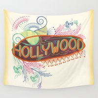 decorative Wall Tapestries featuring Decorative Typographic by famenxt