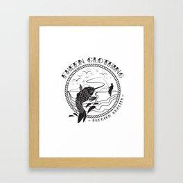 The Fheen Fishermen  Framed Art Print