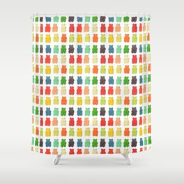 Gummy Shower Curtain