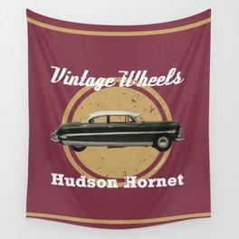 Vintage Wheels: Hudson Hornet Wall Tapestry