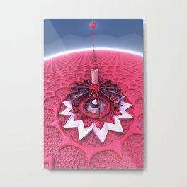Big Top Pink Metal Print