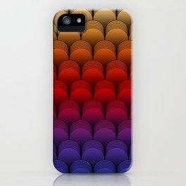The Barrel (Multi-colored) iPhone Case