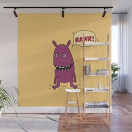Rawr! Monster! Wall Mural