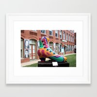 shoe Framed Art Prints featuring Shoe by dpaul49
