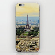 Above Paris iPhone & iPod Skin