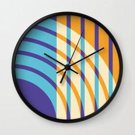 rainbow reverb Wall Clock
