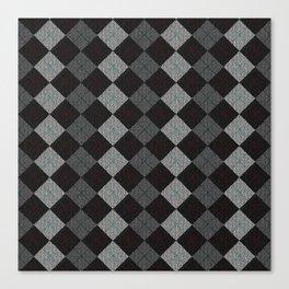 Golf Grey Canvas Print