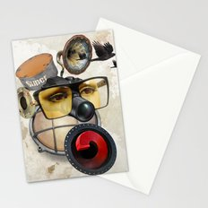 industrial existence Stationery Cards