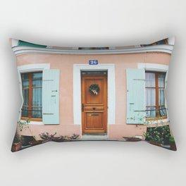 Rue Crémieux House Front Rectangular Pillow