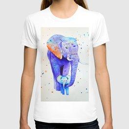 Family of elephants 3 T-shirt