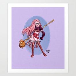 Ritz Art Print
