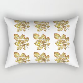 Chestnut leaf Rectangular Pillow